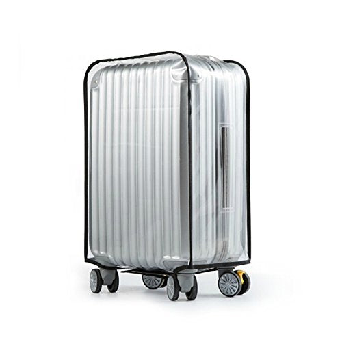Luggage Cover,Clear Pvc Transparent Travel Suitcase Protector Dust-Proof Cover For 20-28 Inch