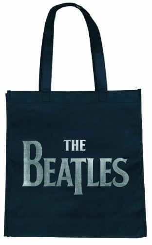 Rock Off The Beatles Drop T Logo Eco Tote Bag