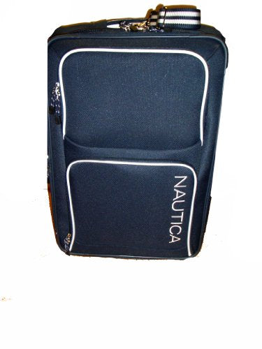 Nautica 25RX Rolling Catamaran Collection Suitcase, Navy/White