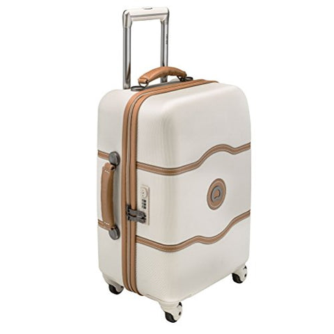 "Delsey Chatelet 21"" Carry-On Spinner Trolley (Champagne, 21-inch)"