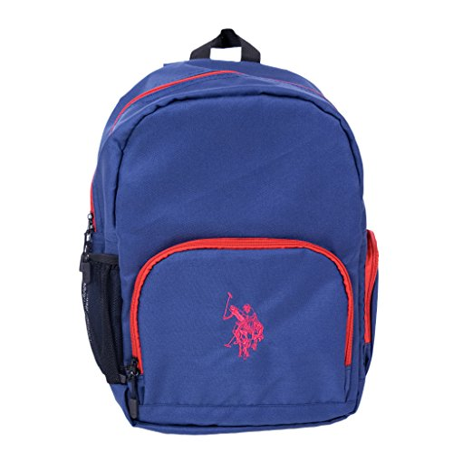 "U.S. Polo Assn. Laptop Backpack, Holds Laptops up to 16"", Navy"