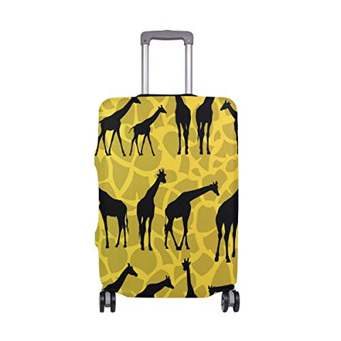 GIOVANIOR Giraffe Silhouettes Luggage Cover Suitcase Protector Carry On Covers