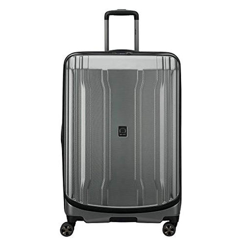 "DELSEY Paris Luggage Cruise Lite Hardside 2.0 29"" Checked Expandable Suitcase, Platinum"