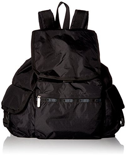 Lesportsac Women'S Classic Voyager Backpack, Black