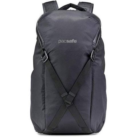 "PacSafe Venturesafe X24 24L Anti-Theft Backpack-Fits 15"" Laptop Casual Daypack, Black, One Size"