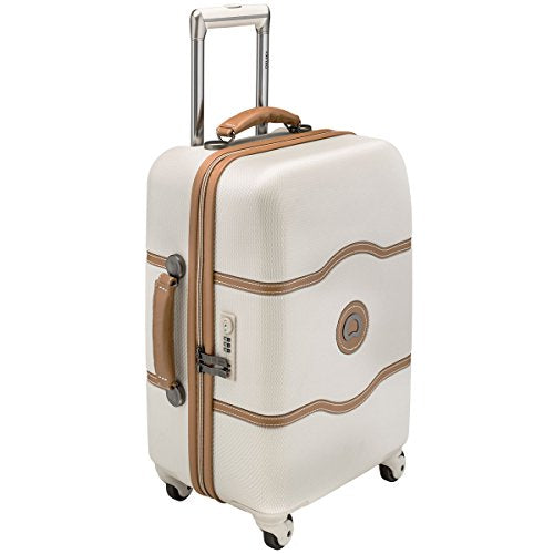 Delsey Luggage Chatelet 21 Inch Carry-On Spinner (One size, Gold)