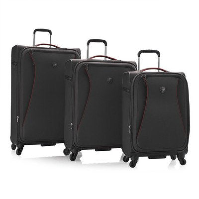 Helix 3 Piece Luggage Set Color: Charcoal