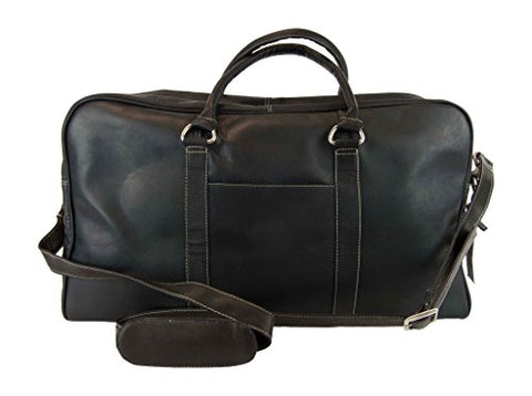 Latico Leathers Heritage Cabin Duffel, Leather, Black, One Size