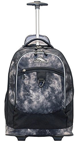 High Sierra Chaser Wheeled Backpack (Atmosphere/Black)
