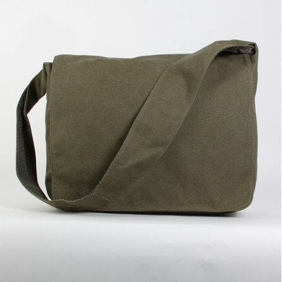 Parson Gray Messenger Bag Color: Olive