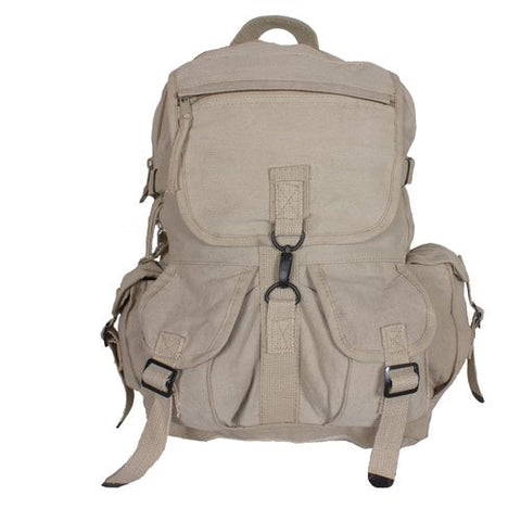 Fox Outdoor Products Retro Balkan Exploratory Rucksack, Khaki