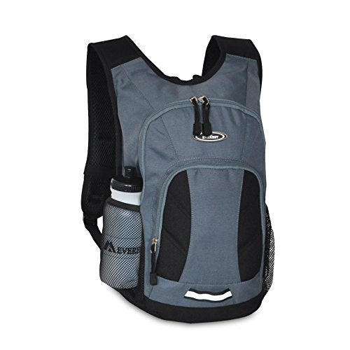 Everest Mini Hiking Pack, Dark Gray/Black