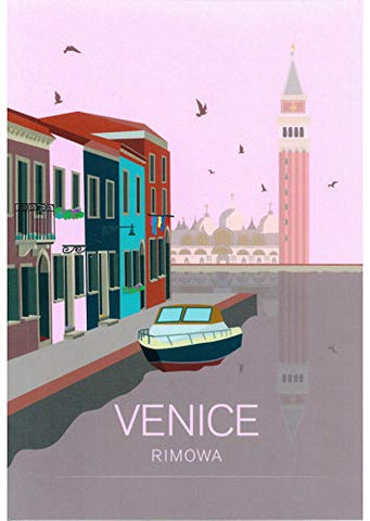 Rimowa Venice Italy Country Sticker For Topas, Original, Salsa, Essential Series For Luggage And