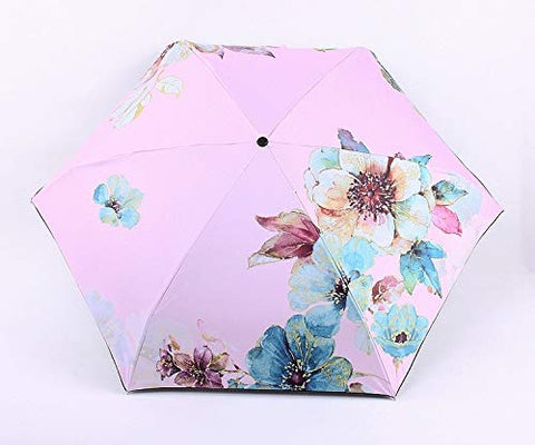 Table Office Accessories M and F 1PC Women Flower Umbrella Anti UV Protection Sun Umbrella Pink