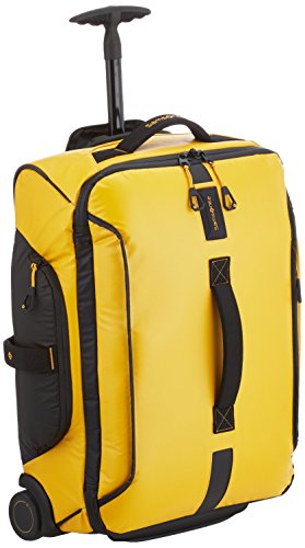 Samsonite Paradiver Light Duffle With Wheels 55/20 Strictcabine, 55 Cm, 48,5 L, Yellow