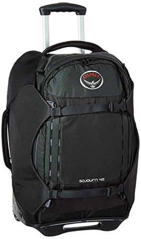 Osprey Packs Sojourn Wheeled Luggage, Flash Black, 45 L/22""