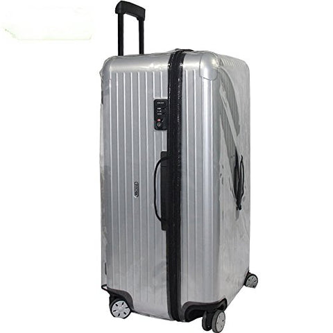 Click Sports Clear Protective Skin Luggage Cover With Zipper For Rimowa Salsa Sports Suitcase