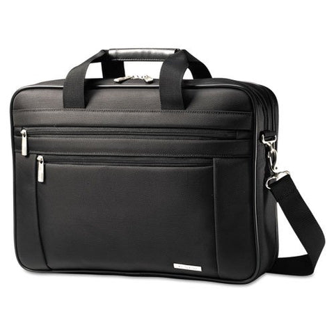 Samsonite - Classic Perfect Fit Laptop Case, 16.5 x 4.5 x 12, Nylon, Black