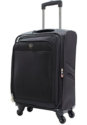 "Travelers Club 20"" ""The Merit"" Expandable Rolling Carry-On Luggage With Premium Features And"