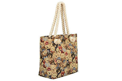 Mellow World Teddy Tb1303 Sling Tote, Tan, One Size