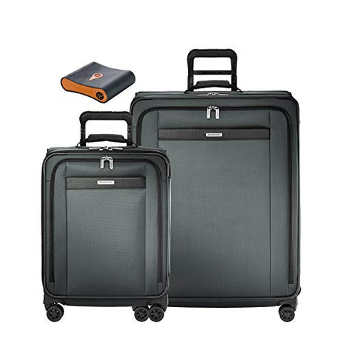 Briggs & Riley Transcend 3-Pc Set- C/O Exp. Spinner, Large Exp. Spinner, Portmantos Tracking Device