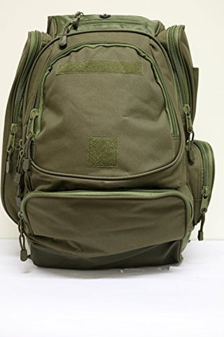 40L Outdoor Hunter Backpack Tactical Military Camping Hiking Trekking Bag 08016 (OD GREEN 08016)