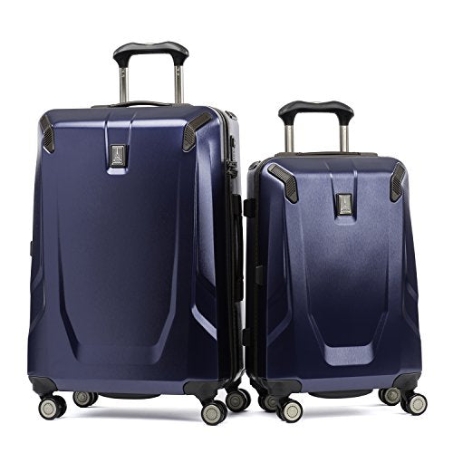 "Travelpro Crew 11 2 Piece Set (21"" And 25""  Hardside Spinners), Navy"