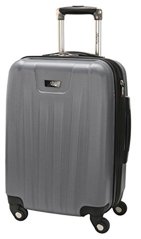 Skyway Nimbus 2.0 20-Inch 4 Wheel Expandable Carry-On, Silver, One Size