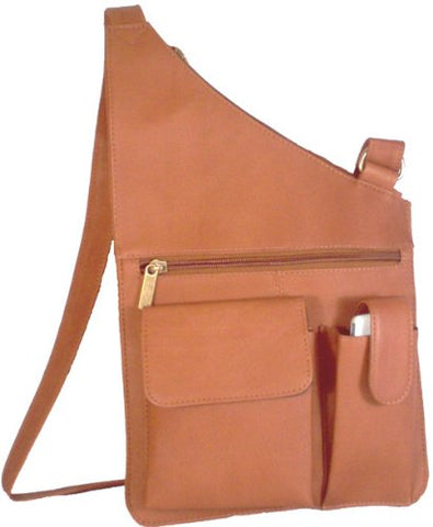 David King & Co. Cross Body Bag, Tan, One Size