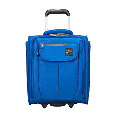 Skyway Mirage 2.0 16-inch Under Seat Rolling Tote, Blue Royal