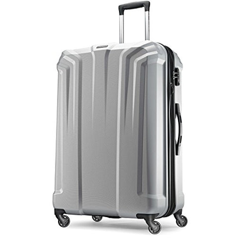 "Samsonite- Opto Pc Hardside 29"" Spinner Silver"