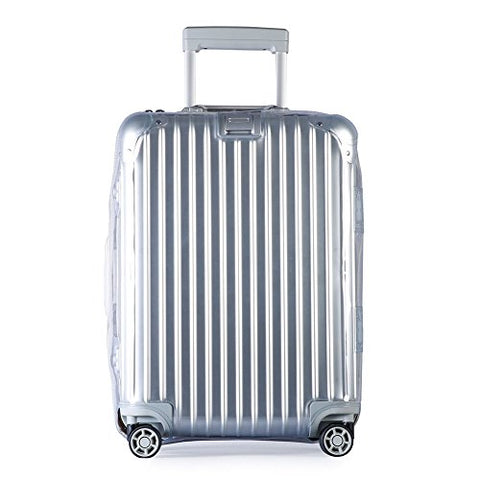 Luggage Cover Protector Clear Pvc Suitcase Protective Case With Black Zipper For Rimowa Topas…