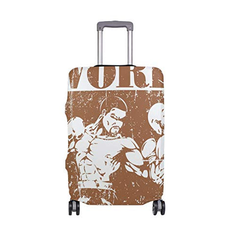 GIOVANIOR Boxing World Champion Luggage Cover Suitcase Protector Carry On Covers