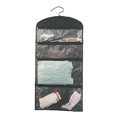 Goodhope Black Nylon Hanging Travel Organizer