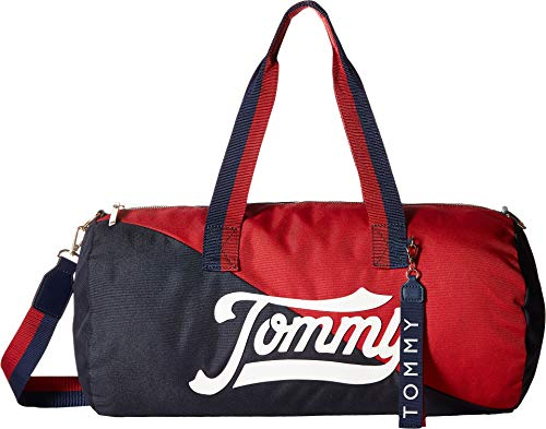 Tommy Hilfiger Women's Daly Duffel Navy/Multi One Size
