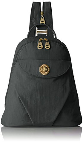 Baggallini Dallas - Stylish, Lightweight, Mini Backpack With Gold Backpack Hardware, Travel Bag