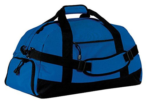 Port & Company Luggage-And-Bags Improved Basic Large Duffel Osfa Royal