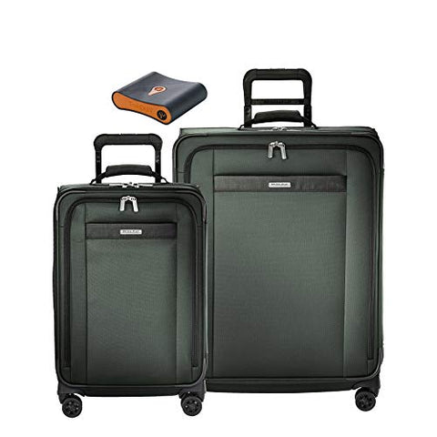 Briggs & Riley Transcend 3-Pc Set- Tall C/O Exp. Spinner,Med Exp. Spinner,Portmantos Tracking
