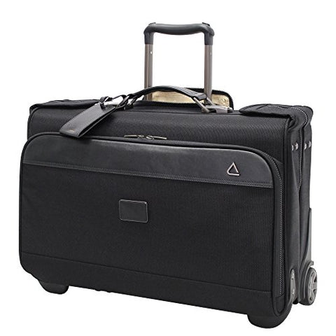 "Andiamo Avanti Collection 22"" Wheeled Garment Bag, Midnight Black"
