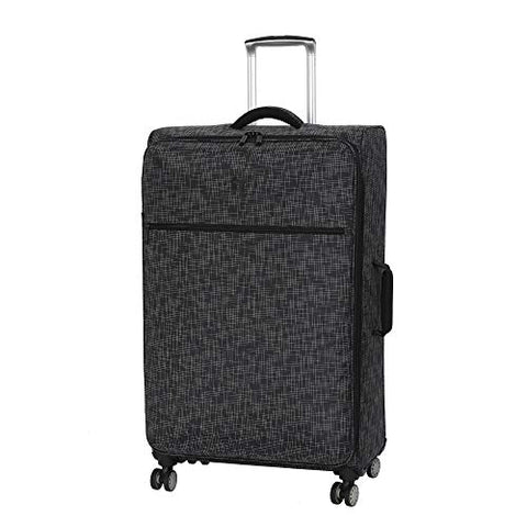 "it luggage 30.5"" Stitched Squares Lightweight Case, Black"