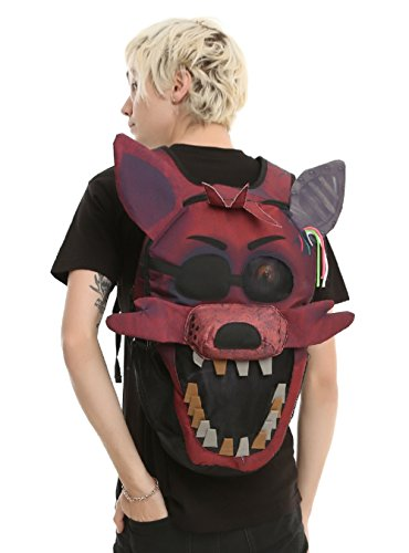 Five Nights at Freddy's 3D Foxy Big Face Backpack Licensed