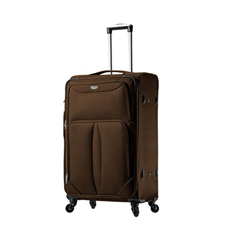Viaggi V1100-28In-Blk Italy Sione Softside 28 Inch Spinner, Black