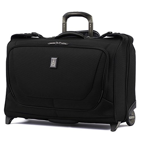 "Travelpro Luggage Crew 11 22"" Carry-on Rolling Garment Bag, Suitcase, Black"