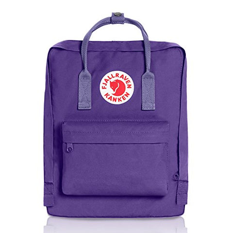 Fjallraven - Kanken Classic Pack, Heritage and Responsibility Since 1960, One Size,Purple/Violet