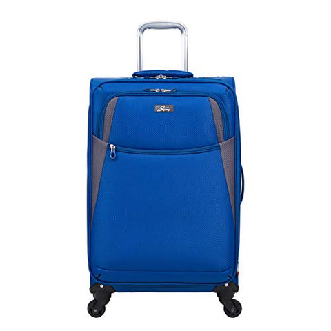 Skyway Encinitas 4-Wheel Spinner Upright, 24-Inch, Galaxy Blue