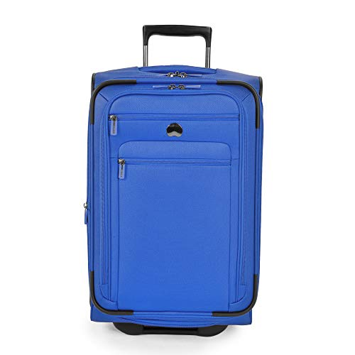 DELSEY Paris Delsey Luggage Helium Sky 2.0 21\ Carry-on 2 Wheel Expandable Trolley (Blue)