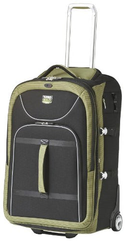 Travelpro Luggage T-Pro Bold 28 Inch Expandable Rollaboard Bag, Black/Green, One Size