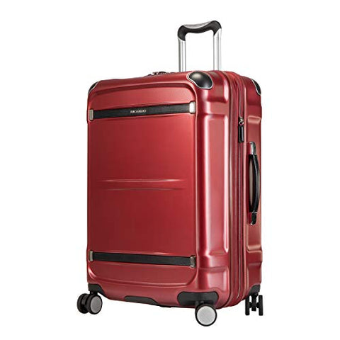 "Ricardo Rodeo Drive 25"" Medium Check-In Suitcase Crimson Flash"