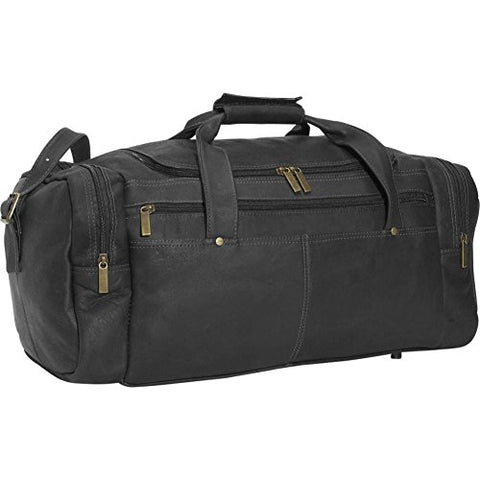David King Leather Classic Duffel Bag in Black
