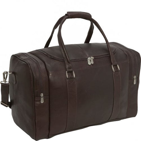 Piel Leather Classic Weekend Carry-On, Chocolate, One Size